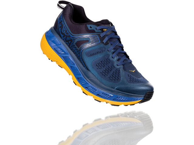 Hoka One One Stinson ATR 5 Zapatillas Running Hombre, moonlight ocean/old gold